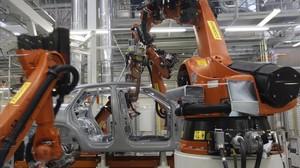 Planta de producción robotizada de Seat, en Martorell.