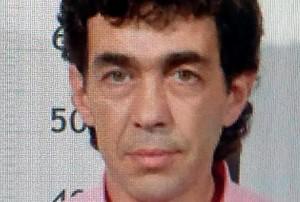 Fotografía del sospechoso huido de la Guardia Civil que permanecio toda la noche atrincherado en su casa de Turieno.
