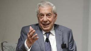 El escritor Mario Vargas Llosa.