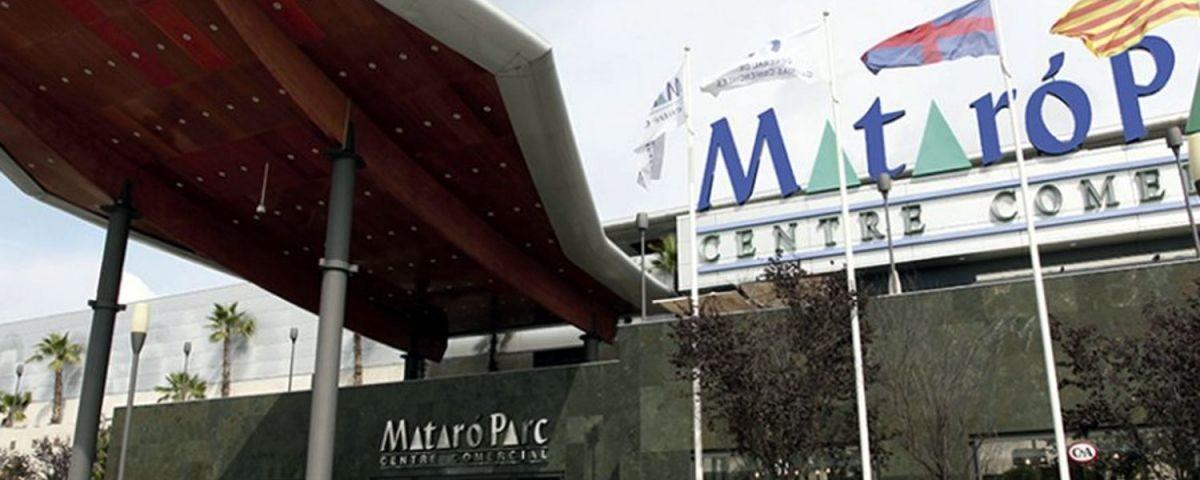 Entrada al Mataró Parc.