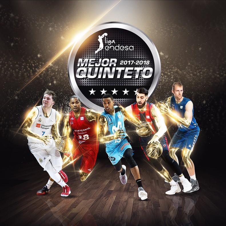 El mejor quinteto de la Liga