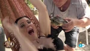 Accidentat inici de 'Supervivientes 2018': María José Ruiz, atacada per una tortuga