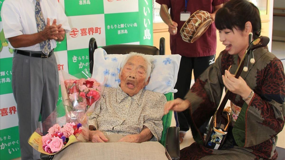Muere con 117 años la japonesa Nabi Tajima, la persona más anciana del mundo