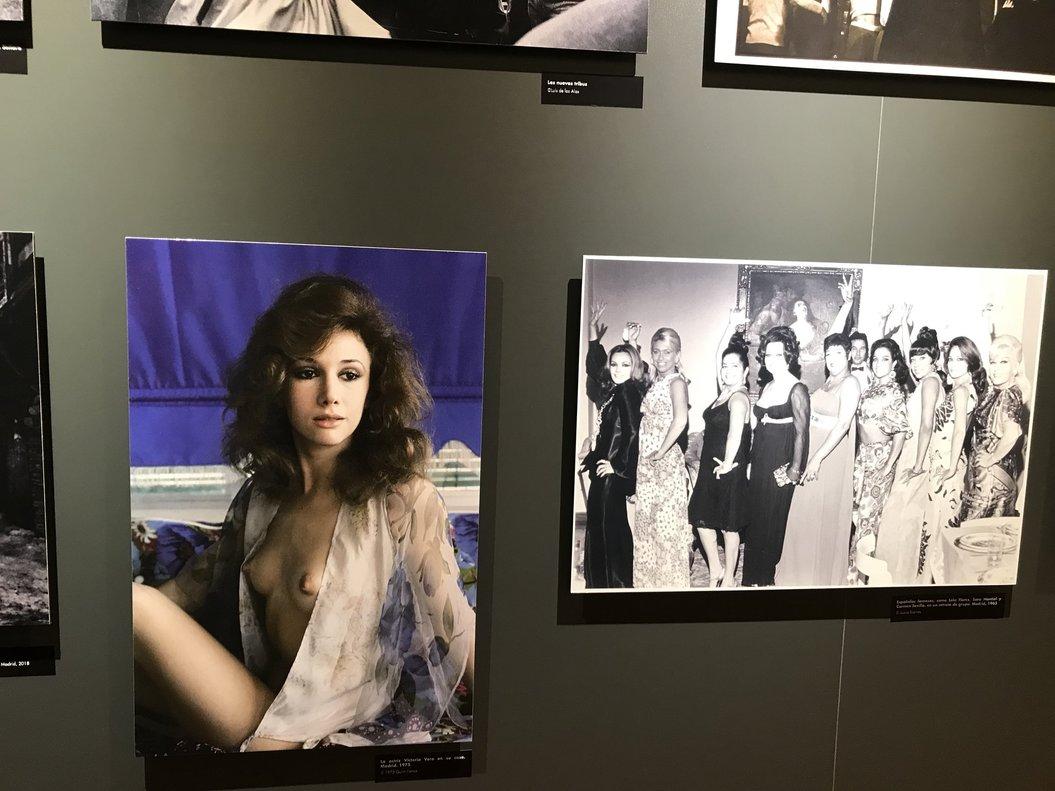 La diputada Ángeles Álvarez explota ante el papel de las mujeres en una exposición del Congreso