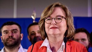 Nathalie Loiseau, la noche electoral.