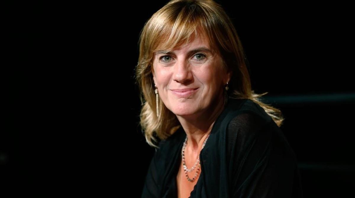 La periodista Gemma Nierga, en una de las últimas presentaciones de la programación de la Cadena SER.