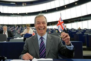 Nigel Farage y su mujer Kirsten llevan vidas separadas