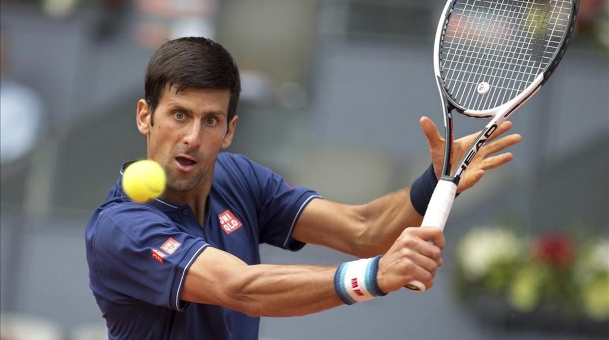 Novak Djokovic, en Madrid.