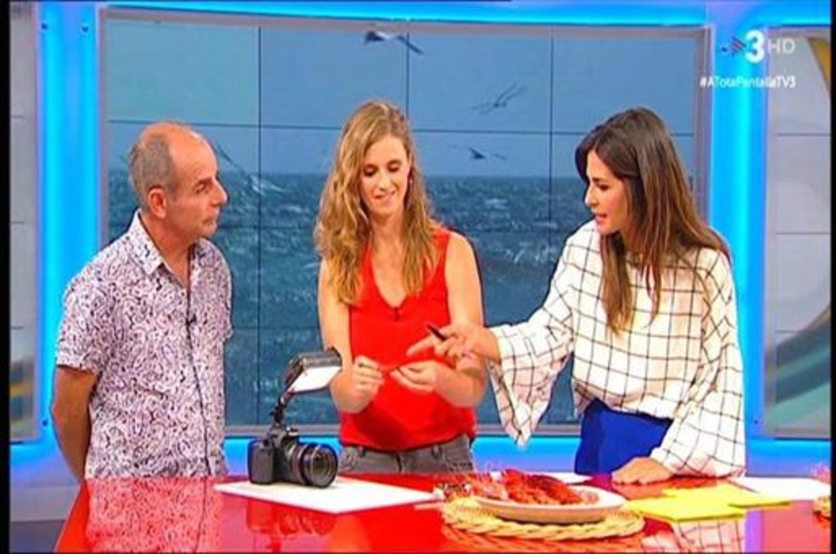 Núria Roca ha estrenado A tota pantalla en TV-3.