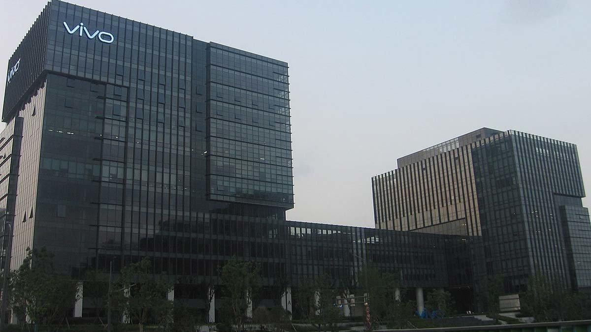 Oficinas de la compañía Vivo en Nanjing (China). .