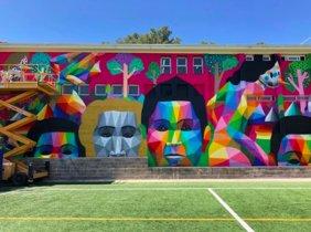 L'art urbà d'Okuda arriba a Gavà