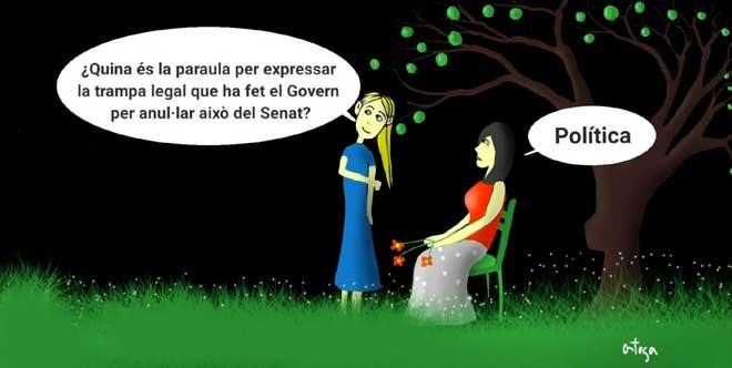 L'humor gràfic de Juan Carlos Ortega del 21 de Setembre del 2018