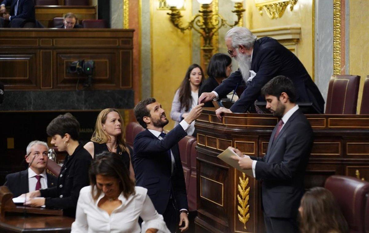 Socialistas encabezarán las dos cámaras en Parlamento de España