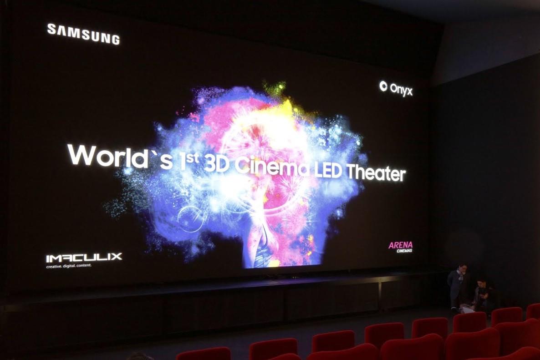 Nueva pantalla de cine LED desarrollada por Samsung