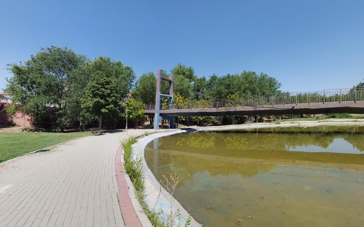 El Parque Prado Ovejero de Móstoles.