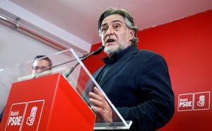 Pepu Hernández, candidato del PSOE a la Alcaldía de Madrid.