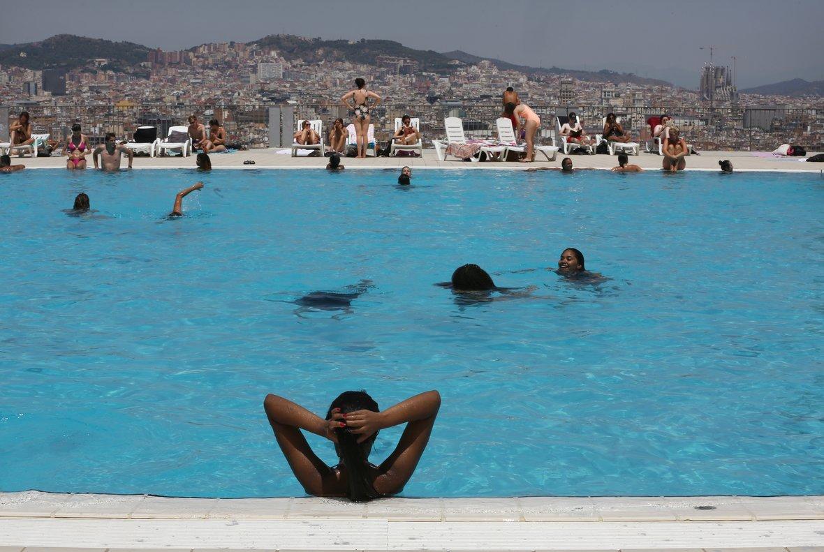 10 piscines contra la calor urbana a Barcelona