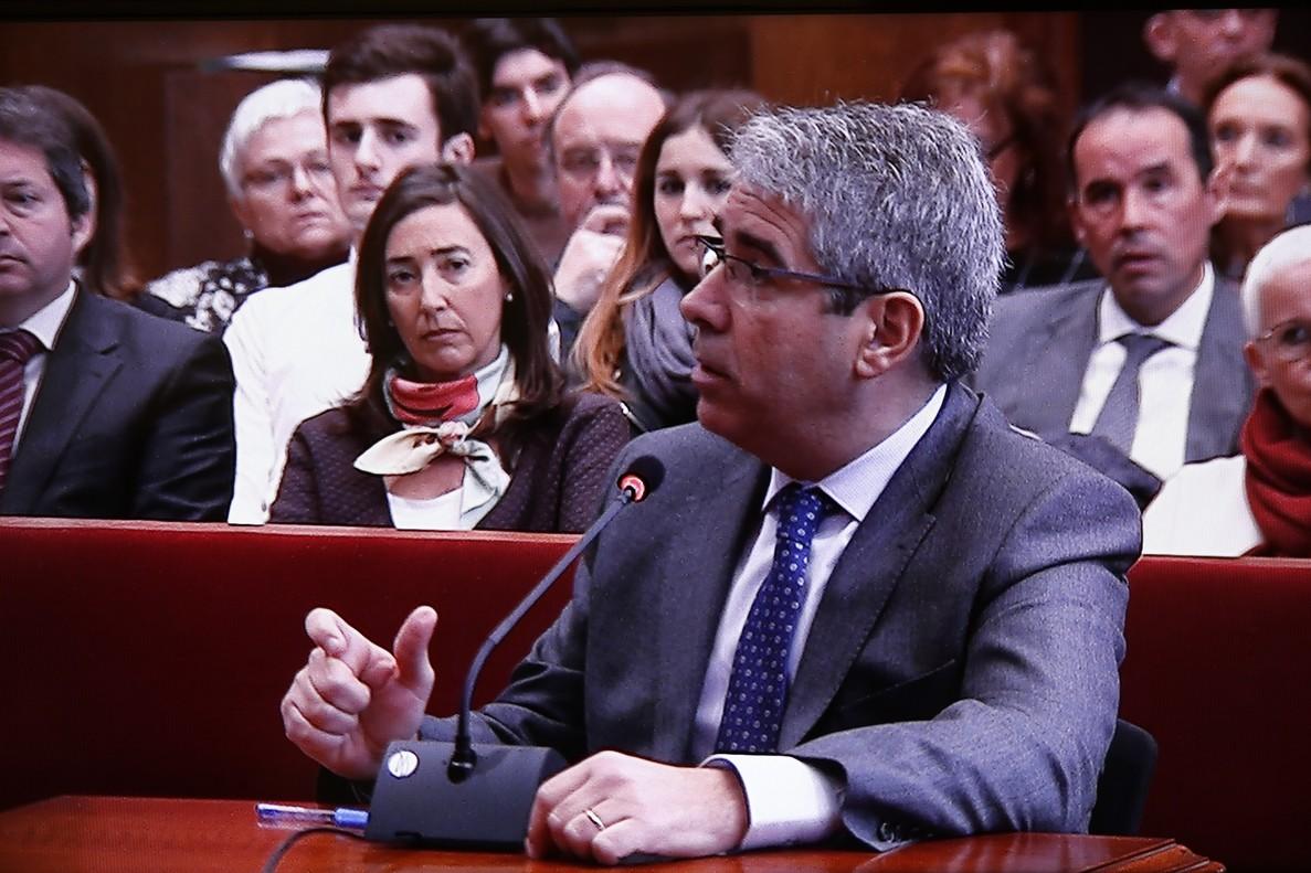 El Supremo fija para el 27 de febrero el juicio de Homs por el 9-N
