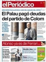 'Caso Palau': Más de 3.000 portadas hasta la sentencia