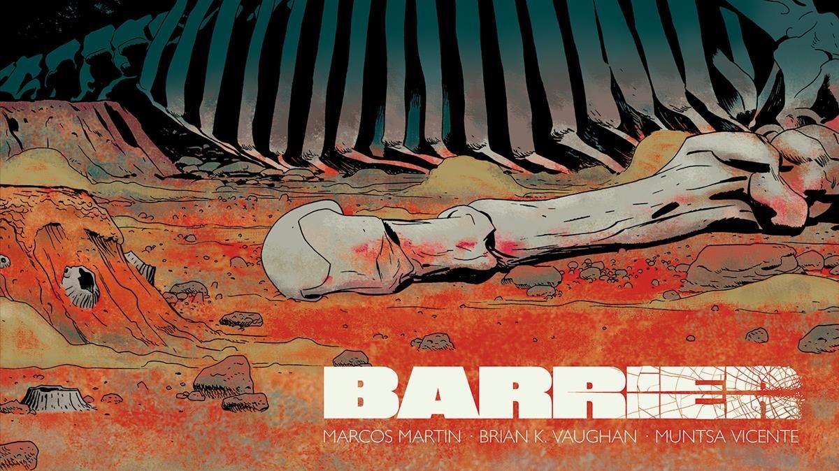Portada de 'Barrier', de Vaughan y Marcos Martín.