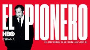 Póster de 'El pionero', la serie documental sobre la vida de Jesús Gil en HBO.