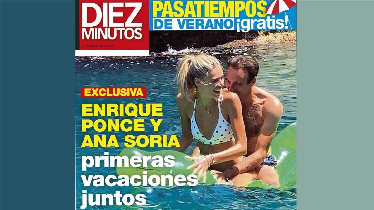 Enrique Ponce y su novia disfrutan de su primera escapada romántica.