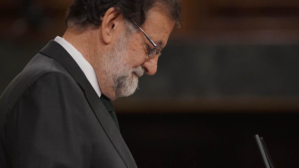 Así ha sido la despedida de Mariano Rajoy en el Congreso de los Diputados.