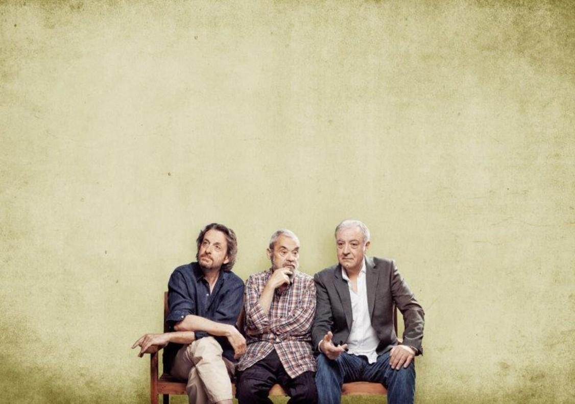Ramon Madaula, Carles Canut y Jordi Bosch, protagonistas de la comedia Adossats