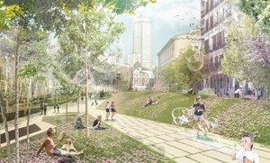 Proyecto de remodelación de la Plaza de España.