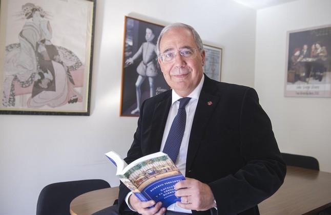 Roberto Fernández, rector de la Universitat de Lleida
