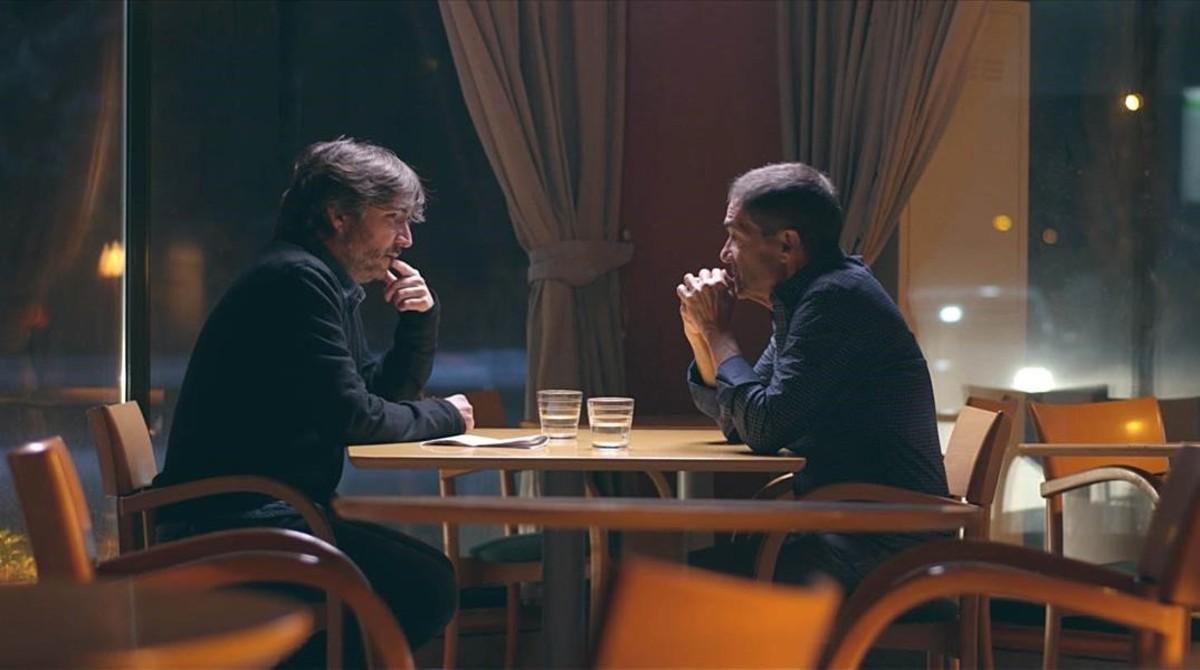 Jordi Évole conversa con uno de losasesinos de Santiago Brouard, en Salvados (La Sexta)