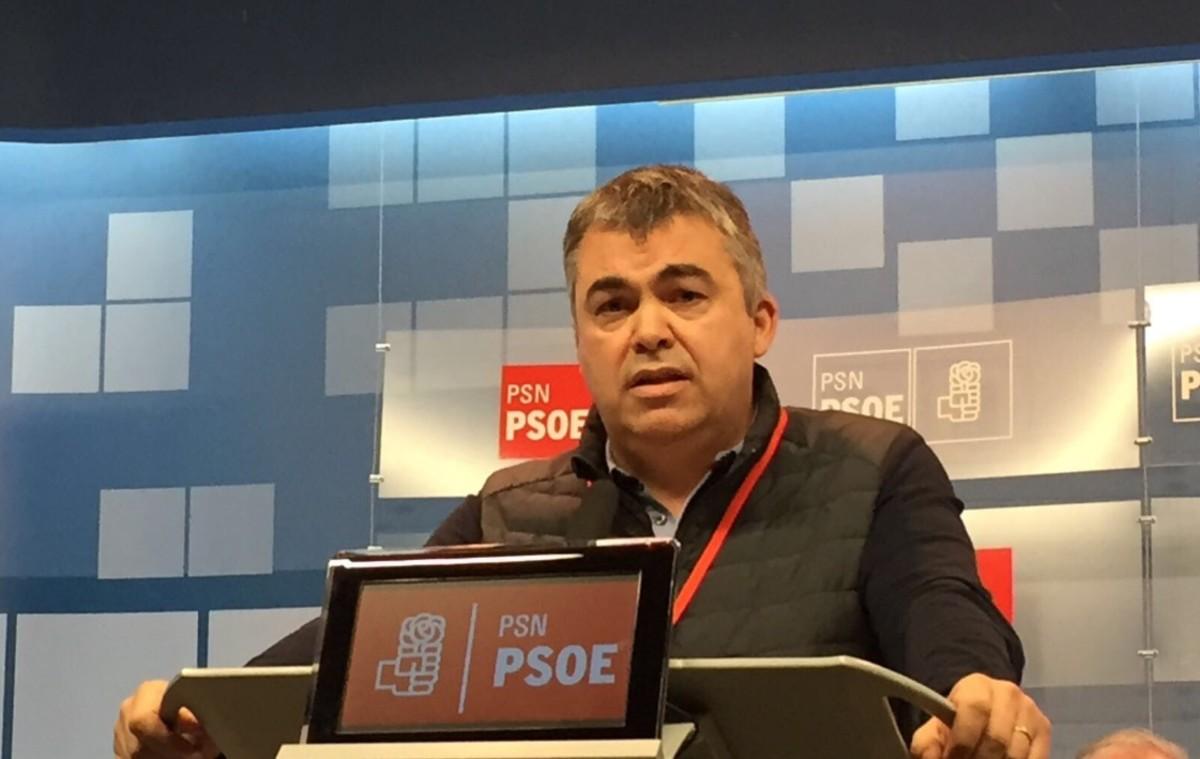 El secretario de Coordinación Territorial del PSOE,Santos Cerdán.