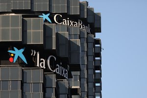 Sede de La Caixa, en Barcelona.