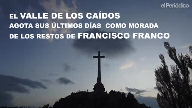 El silencio se adueña del Valle de los Caídos.