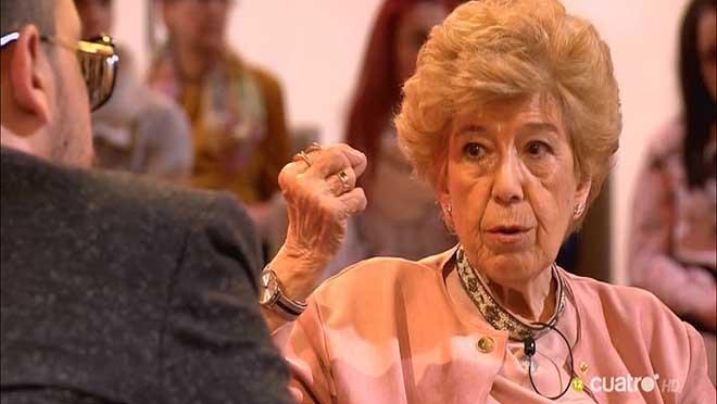 Pilar Urbano en 'Chester' (Cuatro).