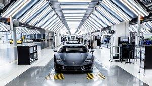 Planta de Lamborghini en Sant'Agata Bolognese, Italia