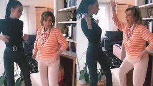 El baile viral de María Teresa Campos con su nieta Alejandra Rubio a ritmo de Maluma