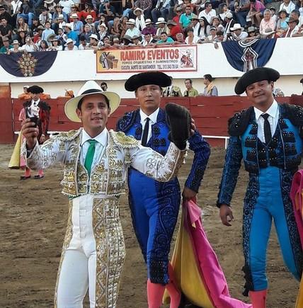 El torero Gustavo Adolfo Zúñiga.