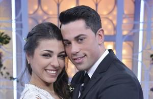 Diego y Lola, tras la elección final del dating show de Tele 5 Mujeres y hombres...
