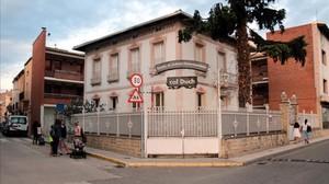 Els estudiants d'un institut de Mollerussa inicien les classes en un antic hotel