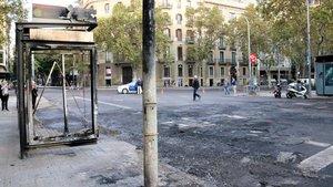 Barcelona reclamarà els danys en les manifestacions violentes