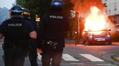 Disturbios en Nantes tras la muerte de un joven durante un control policial
