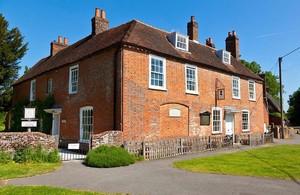 Casa-museo de Jane Austen, en Chawton.
