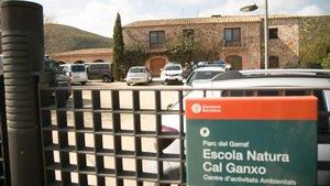 Ambiente tras el ataque alcentro de 'menas'de Castelldefels.