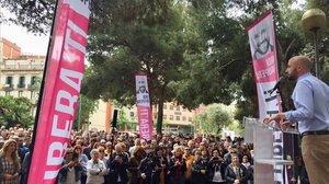 Acto final de campaña de Barcelona és capital.