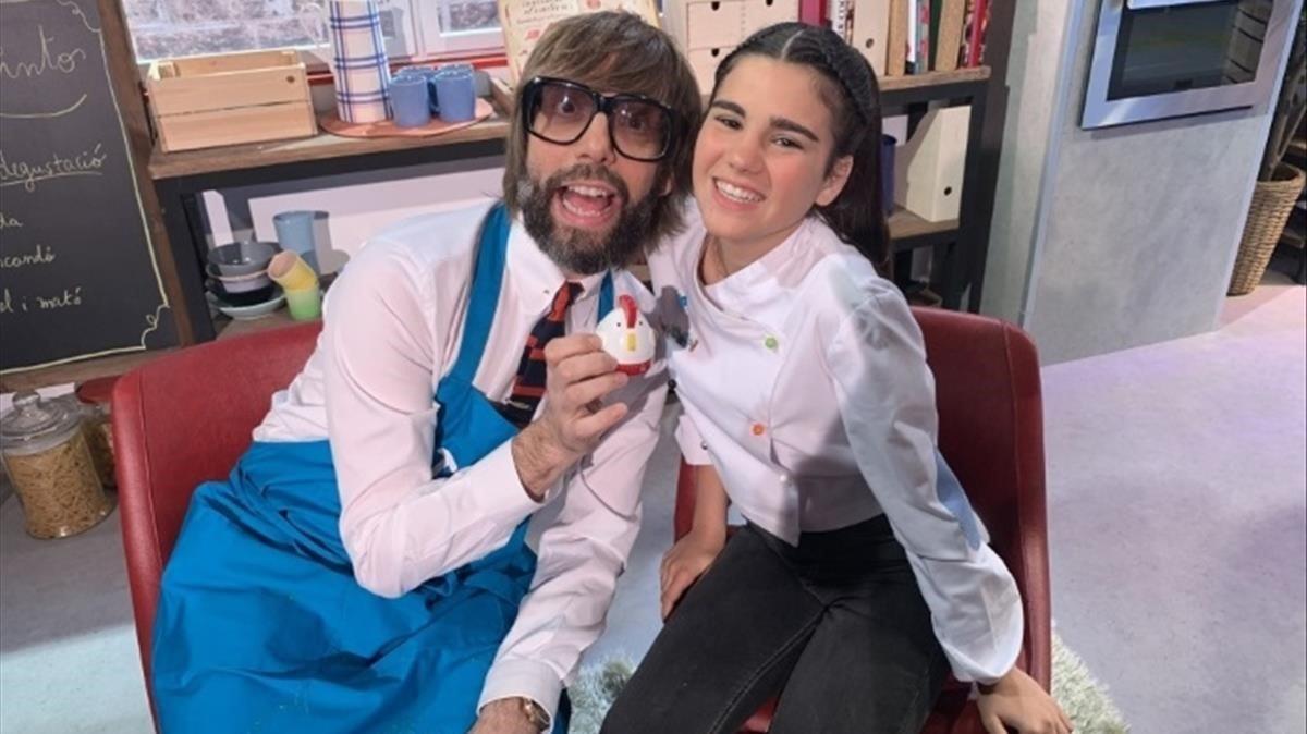 Super3 estrena 'Manduka' amb la petita 'masterchef' Paula Alós