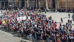 Protestas del campo en Jaén y en Ciudad Real