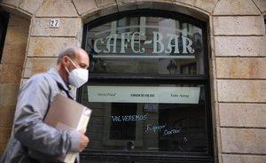 Catalunya tancarà bars i restaurants fins a final de mes
