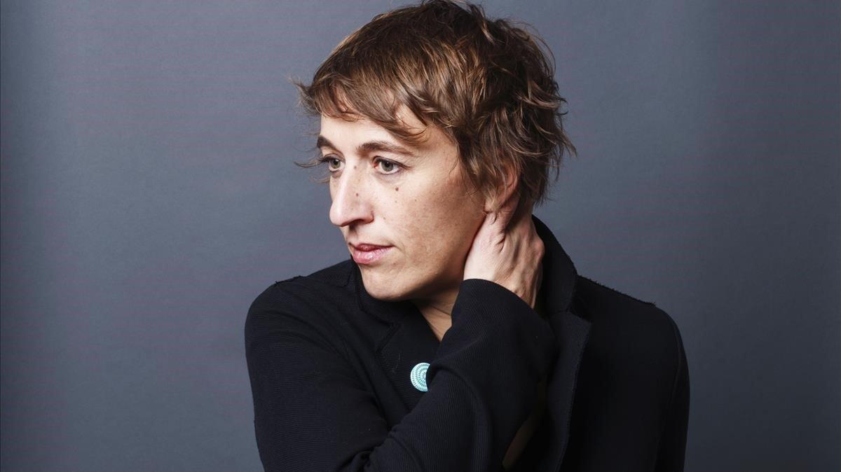 La escritora francesa Marion Brunet, autora de 'El verano irrespirable'.