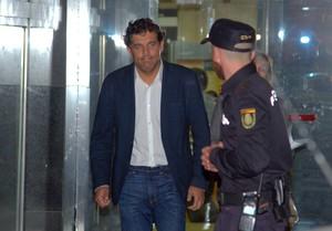 Agustín Juarez tras testificar por la Operación Púnica.